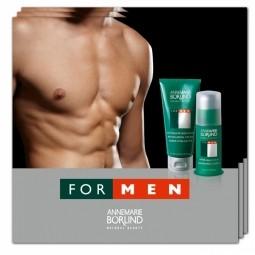 FOR MEN -  Revitalizáló krém + Borotválkozás utáni balzsam - TERMÉKMINTA
