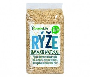 Baszmati rizs natural 500 g BIO
