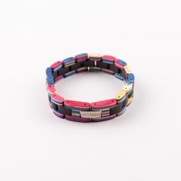 Kézi karkötő - Ebony Rainbow