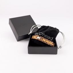 Kézi karkötő - Walnut Oak dobozban
