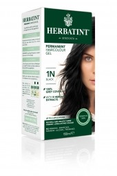 HERBATINT 1N fekete tartós hajfesték