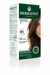HERBATINT tartós hajfesték - gesztenyebarna 4N