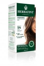 HERBATINT 5N világos gesztenyebarna tartós hajfesték