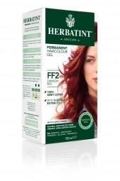 HERBATINT tartós hajfesték - kárminvörös FF2