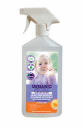 Környezetbarát üveg- és tükörtisztító spray