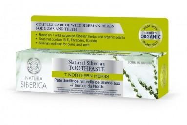 Természetes szibériai fogkrém - 7 szibériai gyógynövénnyel