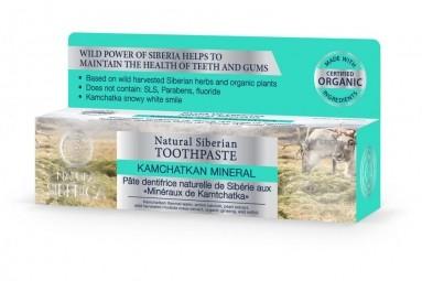 Természetes szibériai fogkrém - Kamcsatkai ásvány