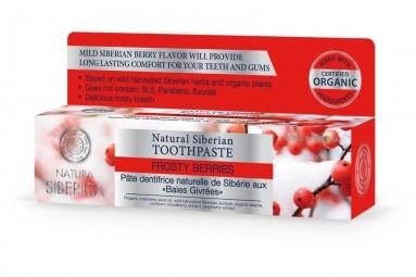 Természetes szibériai fogkrém - Fagyott bogyós gyümölcsök