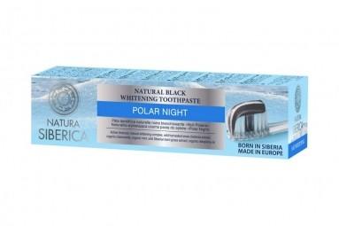 Fekete éjszaka természetes szibériai fehérítő fogkrém 100 g