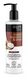 Organic Shop - Kókusz & Shea - Hidratáló hajkondicionáló, 280 ml