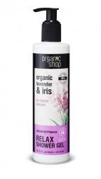 Organic Shop - Levendula - Tusoló gél, 280 ml