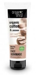 Organic Shop - Reggeli kávé - Finom tisztító arckrém