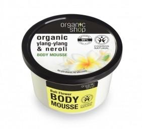 Organic Shop - Virágok Baliról - Testápoló krém, 250 ml