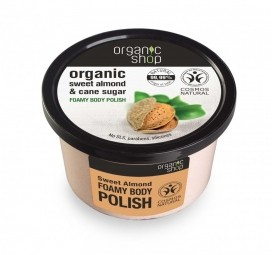 Organic Shop - Habos testradír, Édes mandulák, 250 ml