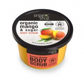 Organic Shop - Mangó - Testradír, 250 ml
