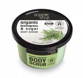 Organic Shop - Indiai citromfű - Testradír, 250 ml