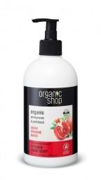 Organic Shop - Gránátalma & Pacsuli - Szappan kézre, 500 ml