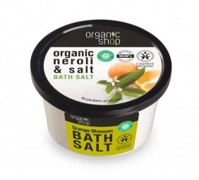 Organic Shop - Narancsvirág - Fürdősó, 250 ml