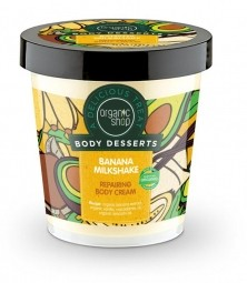 Organic Shop - Banános koktél - Testápoló krém, 450 ml