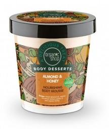 Organic Shop - Mandula & Méz - Tápláló testápoló hab