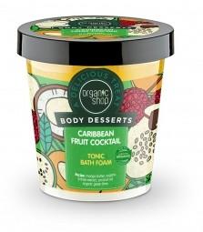 Organic Shop - Gyümölcsös karibi koktél - fürdőhab, 450 ml