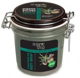 Organic Shop - Erősítő pakolás testtekercselésre, 350 ml