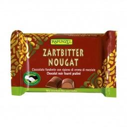 Keserű csokoládé mogyorós töltelékkel BIO 100 g Rapunzel *