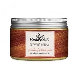 Gyógynövényes hajszínező keverék hennából - mahagóni vörös