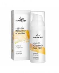 Hidratáló és bőrfehérítő krém normál és érzékeny bőrre