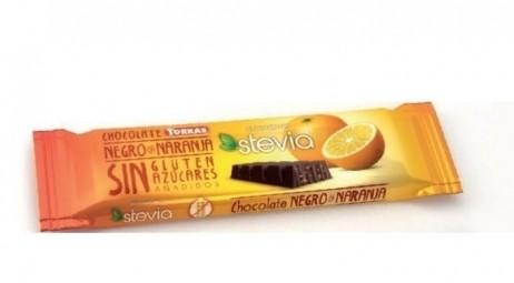 Étcsokoládé szelet naranccsal, 35 g