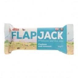 Flapjack zabszelet, kesu-kókusz, gluténmentes, 80 g