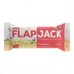 Flapjack zabszelet, vörösáfonya, gluténmentes, 80 g