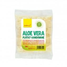 Aloe vera, kandírozott szeletek, 100 g, Wolfberry