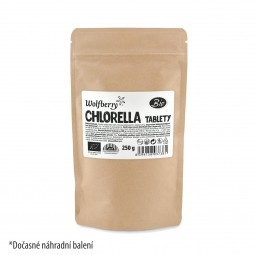 Chlorella BIO 250 g 1000 tabletta Wolfberry PDZ *