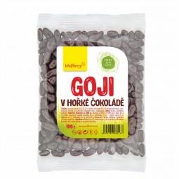 Goji étcsokoládéban, 100 g, Wolfberry