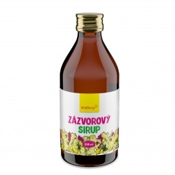 Gyömbérszörp, 250 ml, Wolfberry