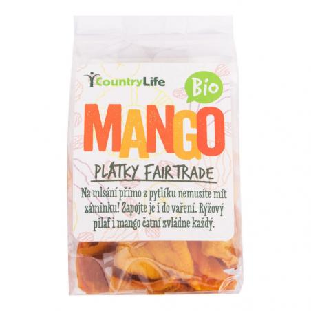 Szárított mangó szeletek 80 g BIO