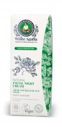 White Agafia - Fiatalság megőrzése - Természetes éjszakai arckrém, 50 ml