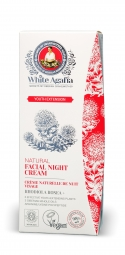 White Agafia - Fiatalság meghosszabbítása - Éjszakai arckrém, 50 ml