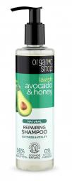 Organic Shop - Avokádó & Méz - Regeneráló sampon, 280 ml