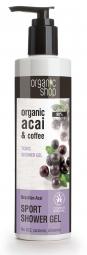 Organic Shop - Brazil Acai & Kávé - Tusoló gél, 280 ml