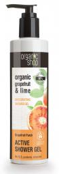 Organic Shop - Grapefruitos puncs - Tusoló gél, 280 ml