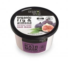 Organic Shop - Füge és Mandula - Hajpakolás, 250 ml