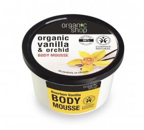 Organic Shop - Vanília & Orchidea - Testápoló krém, 250 ml