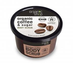 Organic Shop - Brazil kávé - Testradír, 250 ml