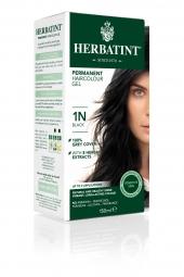 HERBATINT tartós hajfesték - fekete 1N