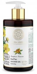 Flora Siberica - Hidratáló tusfürdő -  Kuril tea