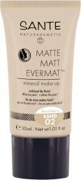 Matte Matt EvermatTM ásványi alapozó, 02 - Sand, 30 ml