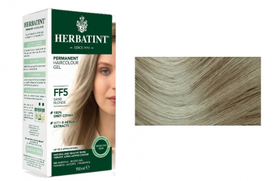 HERBATINT tartós hajfesték - Homokszőke FF5