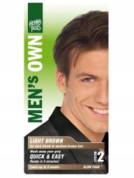 HennaPlus Természetes hajfesték férfiaknak, világosbarna